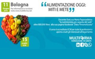 L'alimentazione oggi: miti e mete